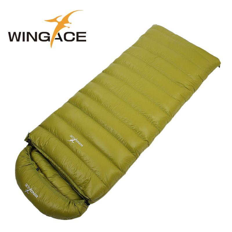 Füllen 400G 600G 800G 1000G ultraleicht gänsedaunen camping outdoor daunenschlafsack umschlag herbst Reise schlaf erwachsene schlafsäcke