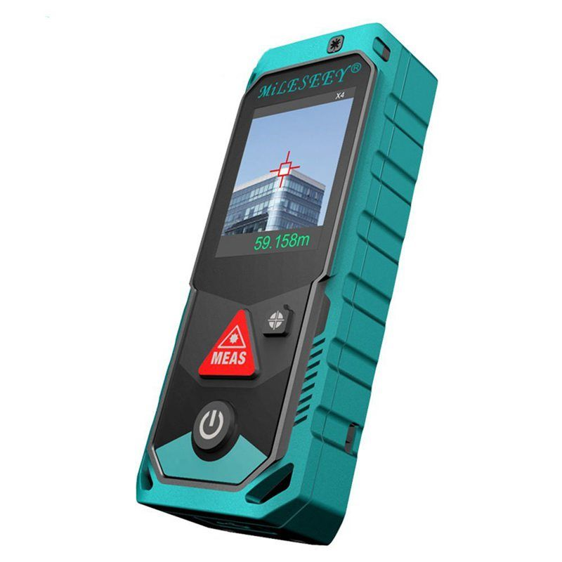 Mileseey P7 Bluetooth Laser Rangefinder with Rotary Touch Screen Rechargerable Laser Meter(200M)