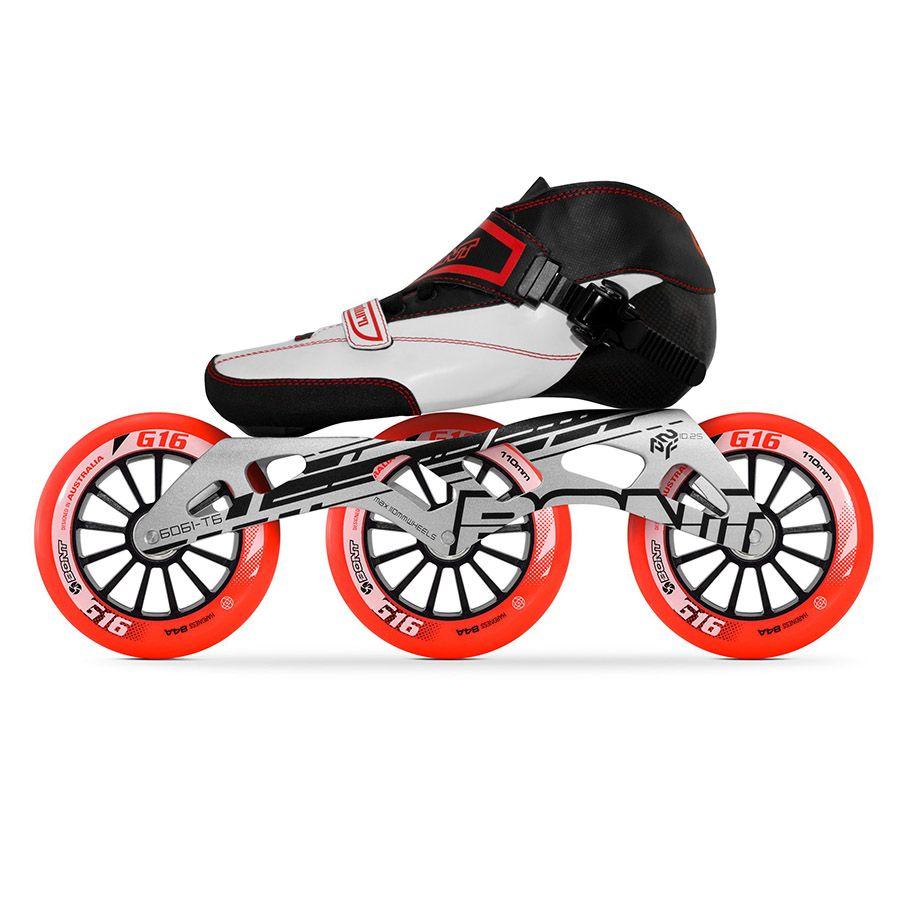100% Original Bont Professional Speed Inline Skates Roller Heatmoldable Carbon Fiber Boot Roller Skates for Kids Men Women BT2