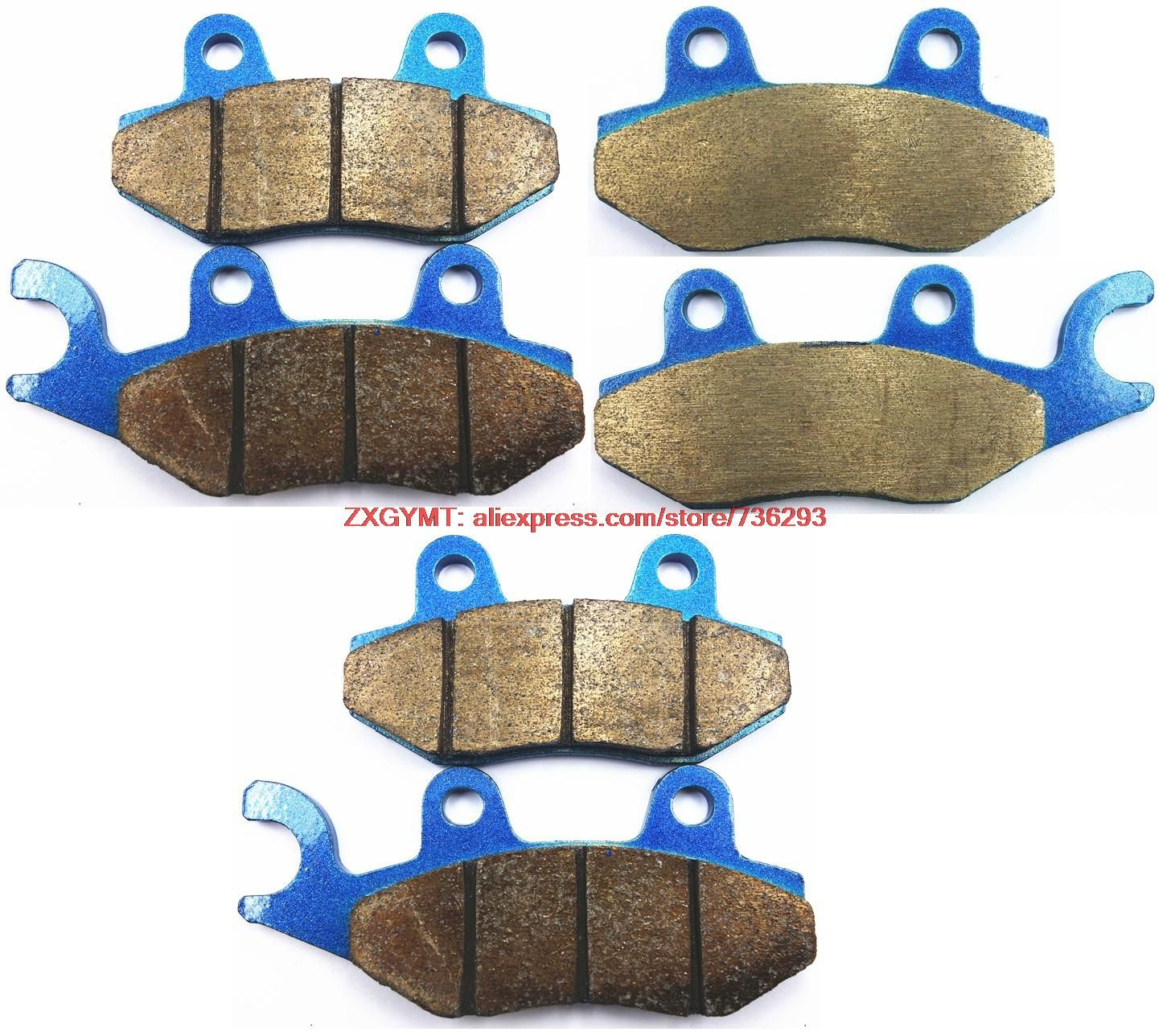 Sintering Motorcycle Brake Shoe Pads Set fit CAN-AM 1000 Commander 2011 & up