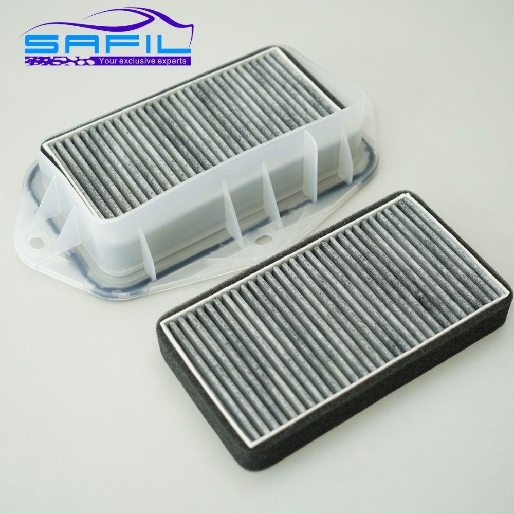 3 Holes Cabin carbon Filter for Vw Sagitar CC Passat Magotan Golf Touran Audi Skoda Octavia External Air Filter #LT100