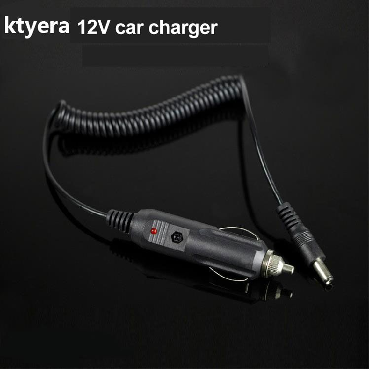 12V DC Car Charger Cable 24V Truck Charger for Baofeng Walkie Talkie UV-5R UV-82 UV-9R KG-UVD1P Battery Accessories