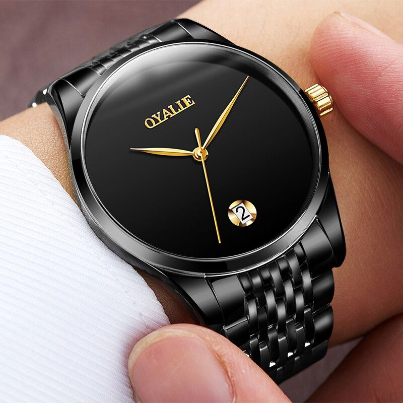 Switzerland Watches Men Brand OYALIE Luxury Simple Rose Gold Wristwatches Tourbillon Sapphire Mirror automatic Mechanical Watch