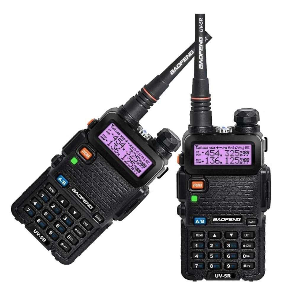 2PCS BAOFENG UV-5R UU 136-174/400- 520MHz Dual-Band DCS DTMF CTCSS Walkie Talkies in Russia - Moscow
