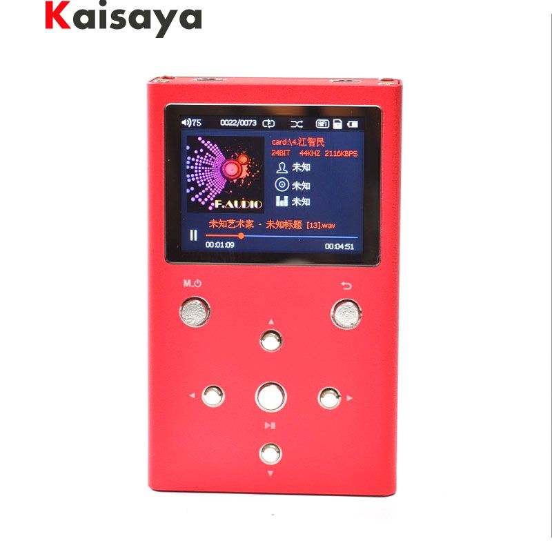 F.Audio XS02 HiFi Lossless Music Player Dual AK4490EQ TPA6120A2 PCM DSD Digital Audio Player DAP MP3 Player With 32GB E1-003-4-5