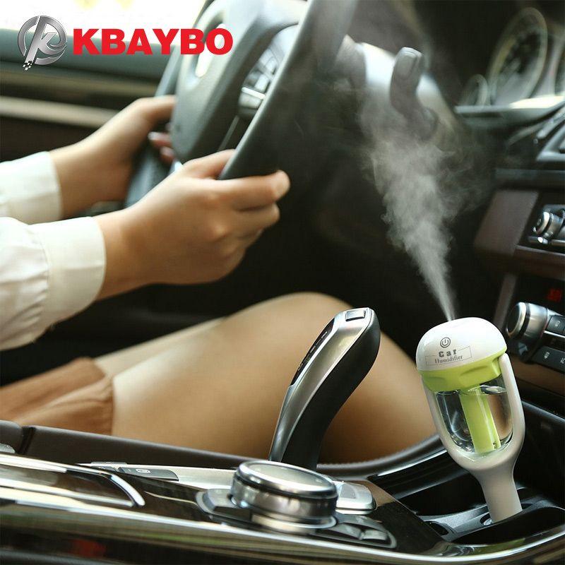 Автомобиль аромат диффузор увлажнитель-Портативный мини-автомобиль ароматерапия увлажнитель воздуха диффузор очиститель Эфирное масло д...