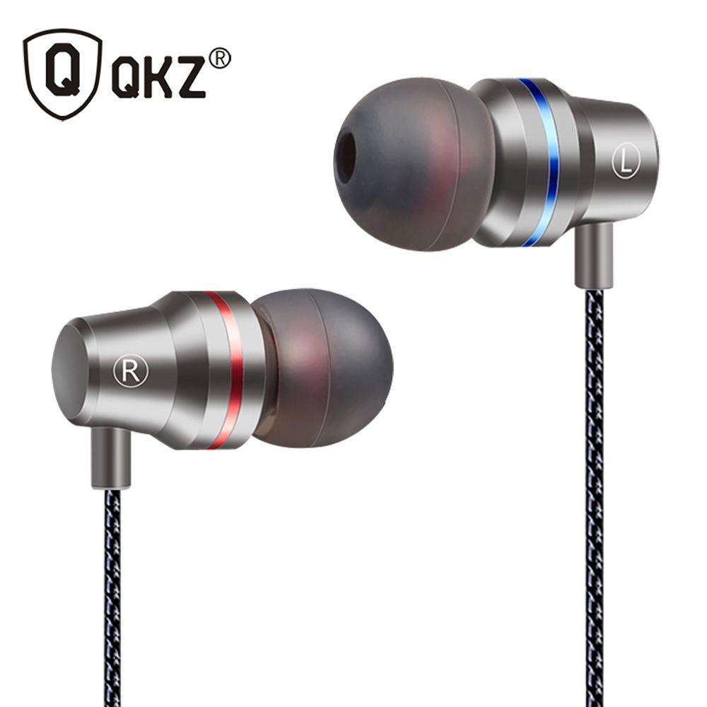 Ecouteurs QKZ DM1 ecouteurs intra-auriculaires édition spéciale casque ecouteurs clair basse écouteur avec Microphone 3 couleurs fone de ouvido