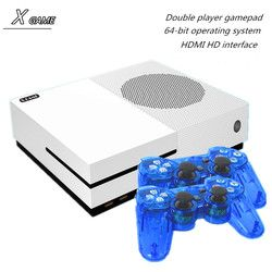 Apoyo 4 K salida HDMI 64 bit X juego de consola Dual core consola incorporada 600 juegos clásicos para GBA/SMD/NES/FC formato