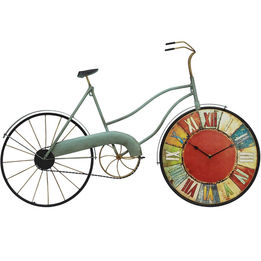 Bicycle Wheel Wall Clock Creative Big Size Large Decorative Wall Clocks Wandklok Watch Wall Decorations Living Room Ornament5577