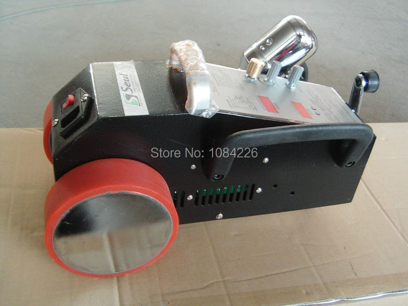 Weldy hot air welder for tarps and banners The Fifth Generation Welding Machine for PVC/Banners/Flex from Brightness