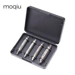 Бесплатная доставка 4 шт./компл. набор винтовых экстракторов легко удалять винт сломанной спидоут набор