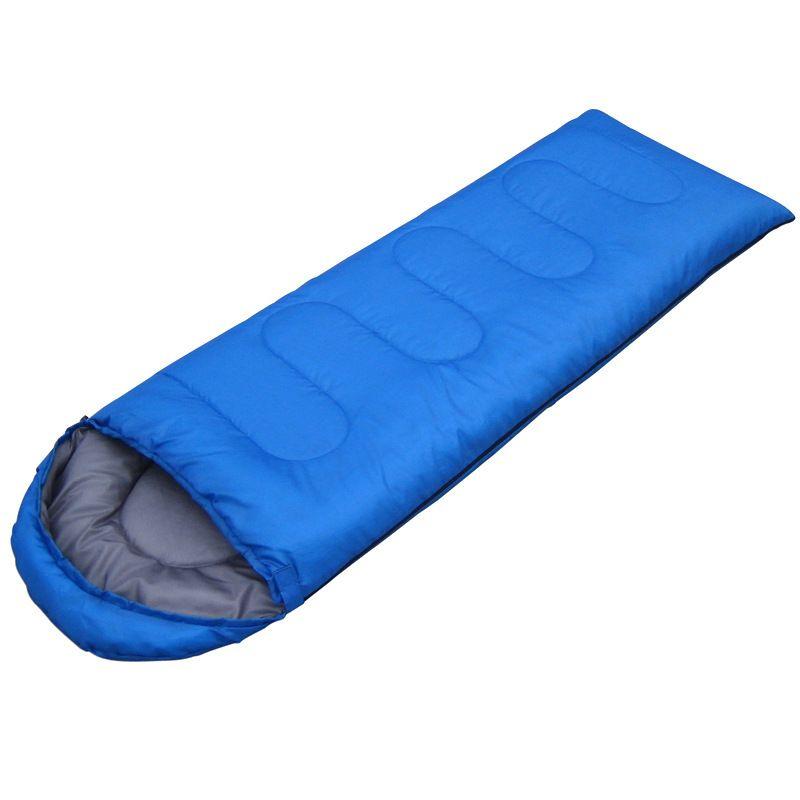950KG (190+30)*75cm Outdoor 4 seasons waterproof Camping Ultra-light Portable Aadult Mummy Type Hollow cotton Sleeping Bag