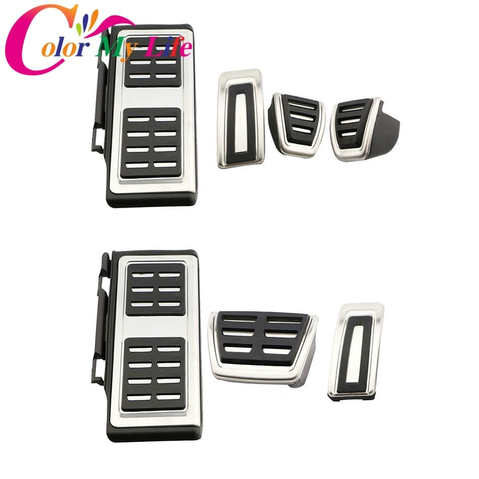 Car Pedal Auto Pedals for VW GOLF 7 GTi MK7 Lamando for Audi A3 S3 8V RS3 Cabrio Fit for Skoda Octavia 5E A7 Rapid Seat Leon