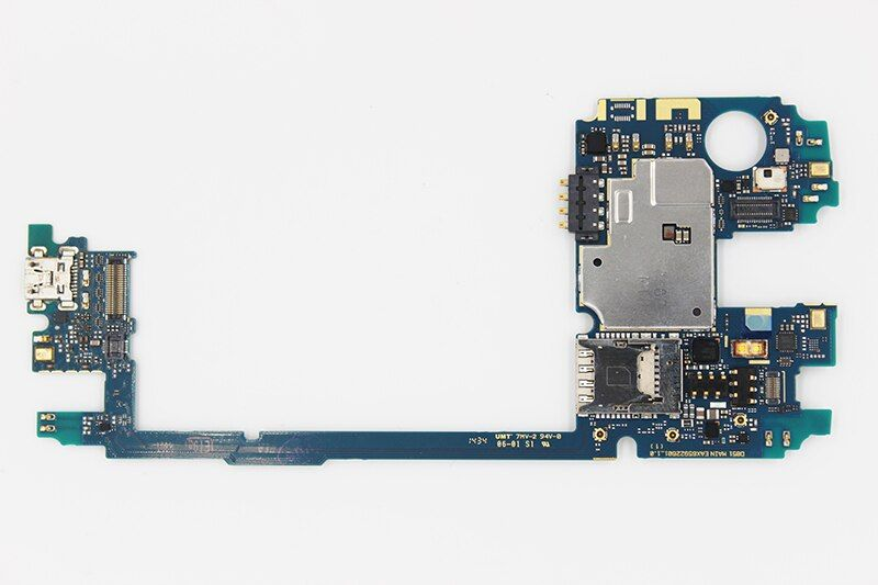 oudini UNLOCKED 32GB work for LG G3 D855 Mainboard,Original for LG G3 D855 32GB Motherboard Test 100% & Free Shipping