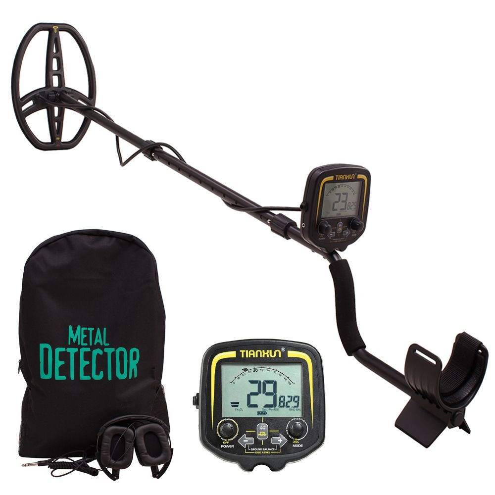 2018 New TIANXUN TX-850 Underground Gold Metal Detector Gold Prospecting Treasure Detector With Carry Bag Headphone Cover