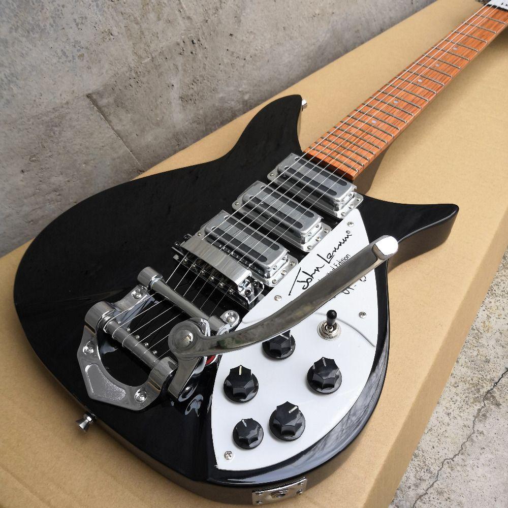 325 elektrische gitarre griffbrett hat lack auf es Akkord abstand 527mm brücke zu die mutter ist 527mm und die kurzen hals Gitarre