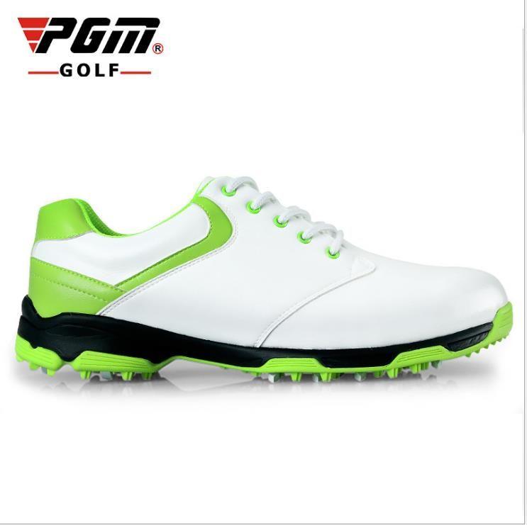 2015 hommes chaussures de golf NOUVEAU Compteur véritable PGM top qualtiy Chaussures De Golf imperméables Mens pas de pointes de Golf à la main chaussures