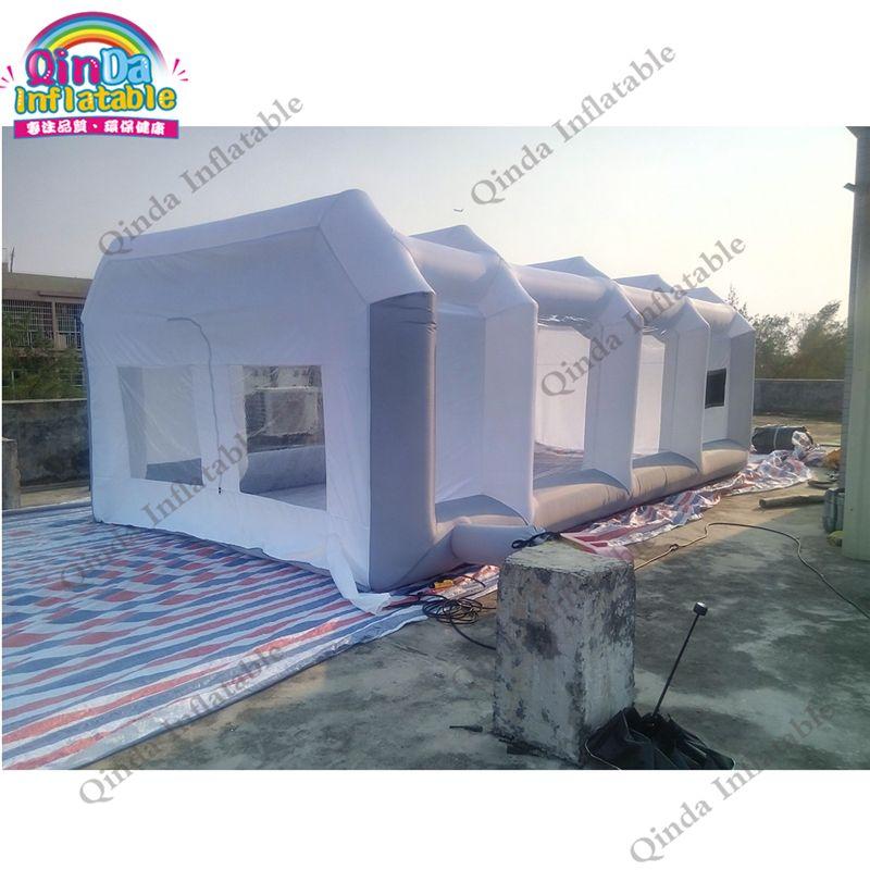 Guangzhou Fabrik preis Aufblasbare Spritzkabine, Portable Spray Lackierkabine Für Verkauf, Mobilen Arbeits Station Auto Malerei Zimmer
