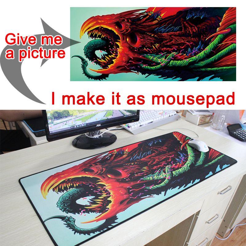 photo pictures DIY Custom mousepad L XL Super <font><b>grande</b></font> large Mouse pad game gamer gaming keyboard mat computer tablet mouse pad