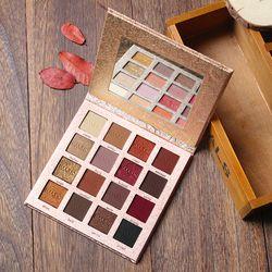 IMAGIC Nouvelle Arrivée Charme Fard À Paupières 16 Couleur Palette Make up Palette Mat Shimmer Ombre À Paupières Pigmentées Poudre