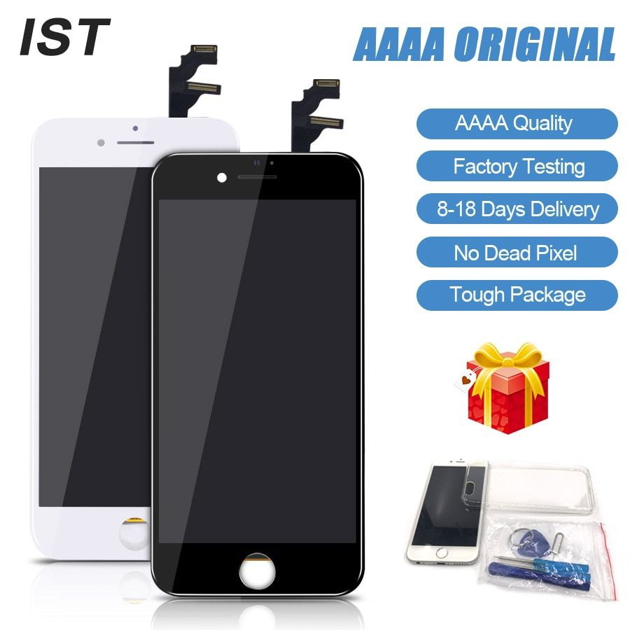 2018 New IST AAAA No Dead Pixel LCD Screen For iPhone 6 LCD 6 Plus Display Touch Screen Replacement Screen LCDS With Tools Kits
