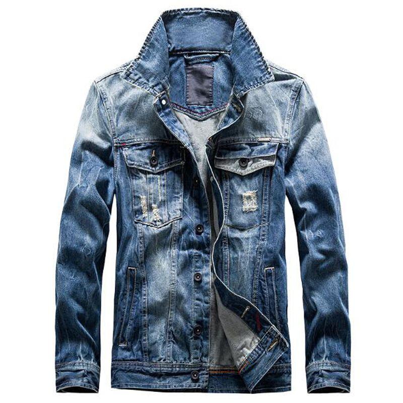 Neuheiten Retro Klassiker Denim Jacke Männer Vintage Kleidung Beiläufige Dünne Jacken männer Mantel Jeans Jacken Plus Größe M-3XL C1067