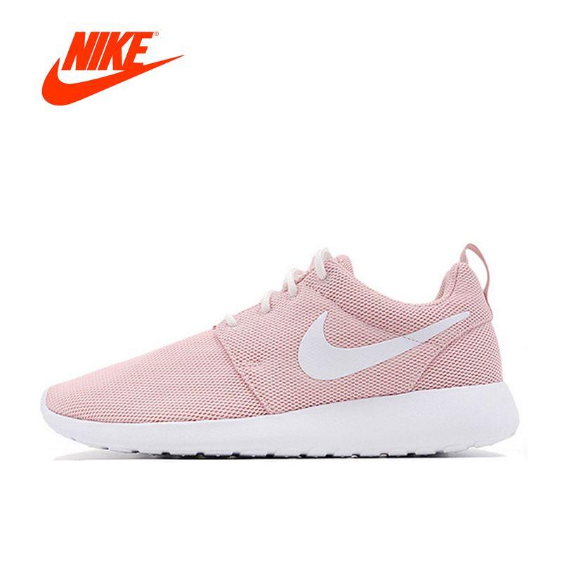 Original Neue Ankunft Offizielle Nike Roshe Run Eine Atmungs Laufende Schuhe der Frauen Sport Turnschuhe Klassische Outdoor Tennis Schuhe