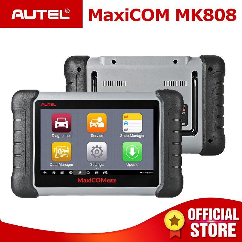 Autel MaxiCOM MK808 OBD 2 Auto Diagnose Werkzeug OBD2 Scanner Auto Diagnose Funktionen OBDII Code Reader Schlüssel Programmierung PK MX808