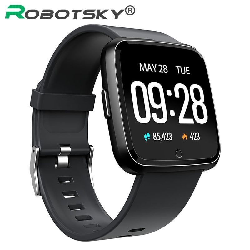 Y7 Smart watch IP67 Waterproof Fitness Tracker Heart Rate Monitor Blood Pressure Women men Clock Smartwatch For Android IOS