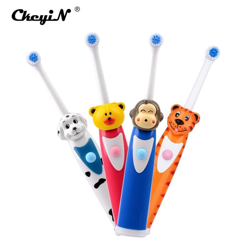 Ultrasonic Vibrating Electric Toothbrush Soft Bristle Silicone Professional Tooth Brush Mouth Clean Baby Oral Hygiene Waterproof