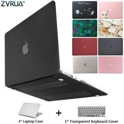 Новый чехол для ноутбука Apple MacBook Air Pro retina 11 12 13 15 для mac book Pro 13,3 15,4 дюймов с сенсорной панелью + крышка клавиатуры