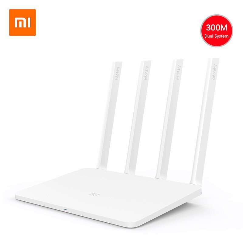 Oringinal Xiaomi Englisch Version Mi Router 3C Wifi Wireless Repeater 300 Mbps 2,4 GHz 4 Antennen Mi WiFi App Steuer freies Adapter