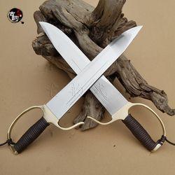 Ekonomi Baru Otentik Wing Chun Butterfly Pedang Pisau kung Fu Pedang Baru Desain Pisau Seni Bela Diri Bart Cham Dao