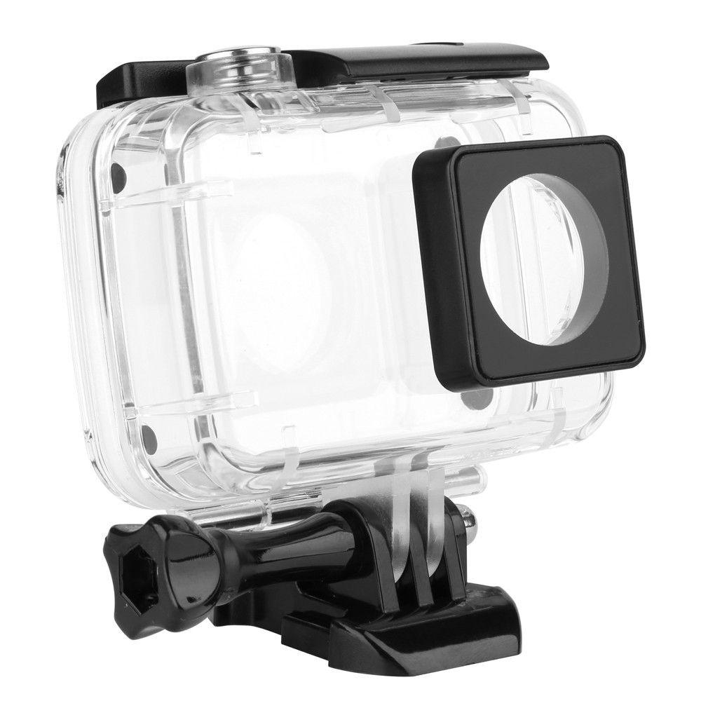 40M Diving Waterproof Case for Xiaomi YI 4K Xiaoyi 2 Action Camara Protective Housing Case for Yi 4K Accessories
