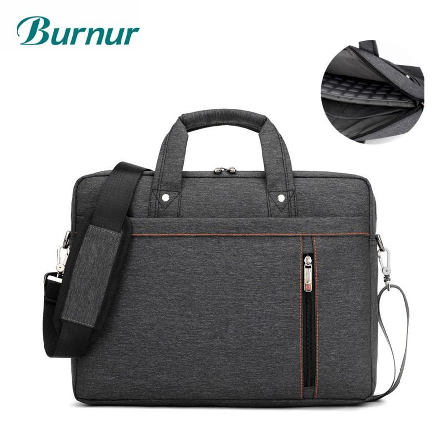 Brand waterproof Laptop bag 17.3 17 15.6 15 14 13.3 13 inch Shoulder portable Messenger Women Notebook bag for macbook air bag
