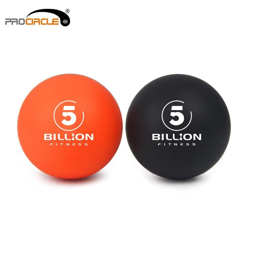 Balles de crosse-masseur de tissus profonds, lot de 1 Orange & 1 noir-sûr & efficace pour soulager & détendre sac de transport Myofascial