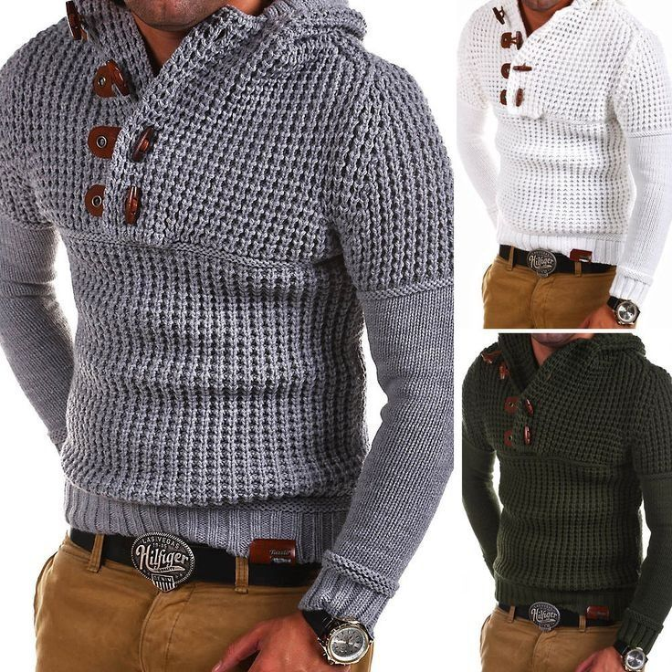 2018 Mens Zip Wool Sweater Pullover Long Sleeve Half-Zipper Sweater Jumper Knitwear Winter Cashmere Outerwears for Men
