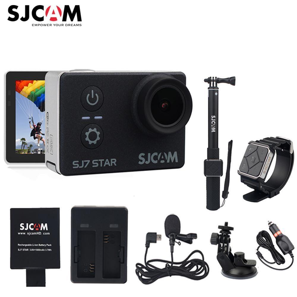 Original SJCAM SJ7 Star Wifi Ultra HD 4K 2''Touch Screen Remote Ambarella A12S75 30M Waterproof Sport Action Camera Car Mini DVR