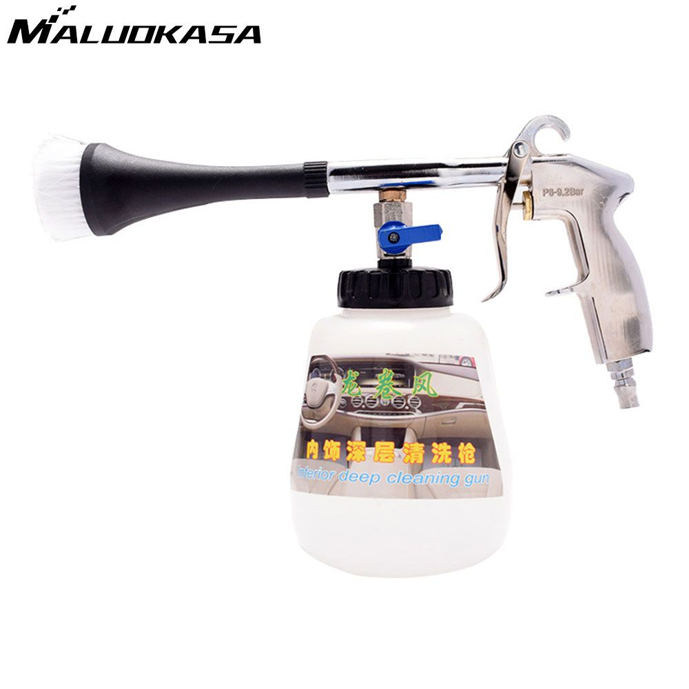 MALUOKASA Water Gun foam Lance for Car Wash Cleaning Pressure Generator Surface Interior & Exterior Car Vacuum Cleaner for Auto
