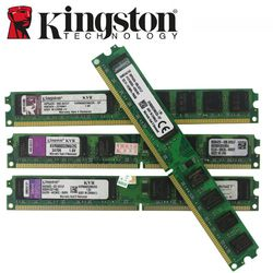 Kingston Memoria RAM Memoria módulo PC de escritorio 800 DDR2 PC2 6400 2 GB 4 GB (2 unids * 2 GB) compatible DDR2 800 MHz/667 Mhz 1 GB DDR 2 800