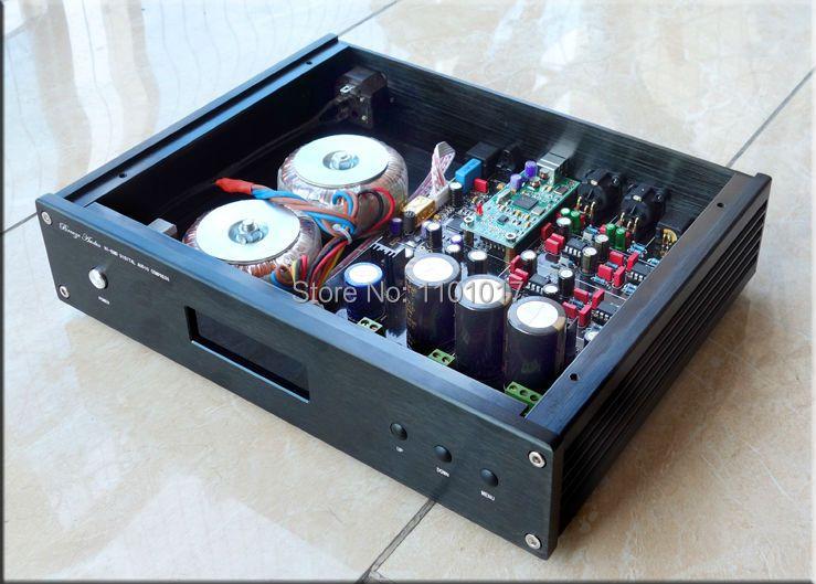 Breeze Audio ES9038PRO DSD DAC HIFI EXQUIS Weiliang Customize ES9038 Top Decoder Converter With Remote