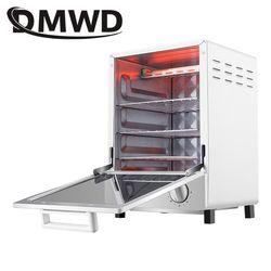 Dmwd Mini Pemanggang Roti Oven Listrik Multifungsi Timer Membuat Biskuit Roti Kue Pizza Cookies Baking Mesin 12L Liter 800 W Uni Eropa kami