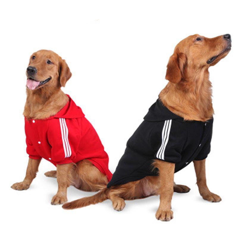 Большая собака одежда спортивная одежда теплое пальто куртки и пиджаки для золотистый ретривер Лабрадор 2XL-6XL большой Товары для Собак Откр...