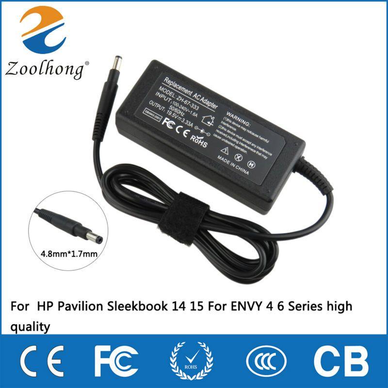 19.5 V 3.33A 65 W ordinateur portable AC adaptateur chargeur pour HP notebook HP pavillon dormeur 14 15 pour ENVY 4 6 série haute qualité
