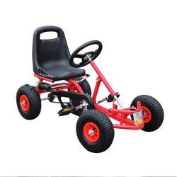 Anak-anak Pedal Go Kart Naik Roda Karet Olahraga Balap Mainan Trike Mobil Ricco