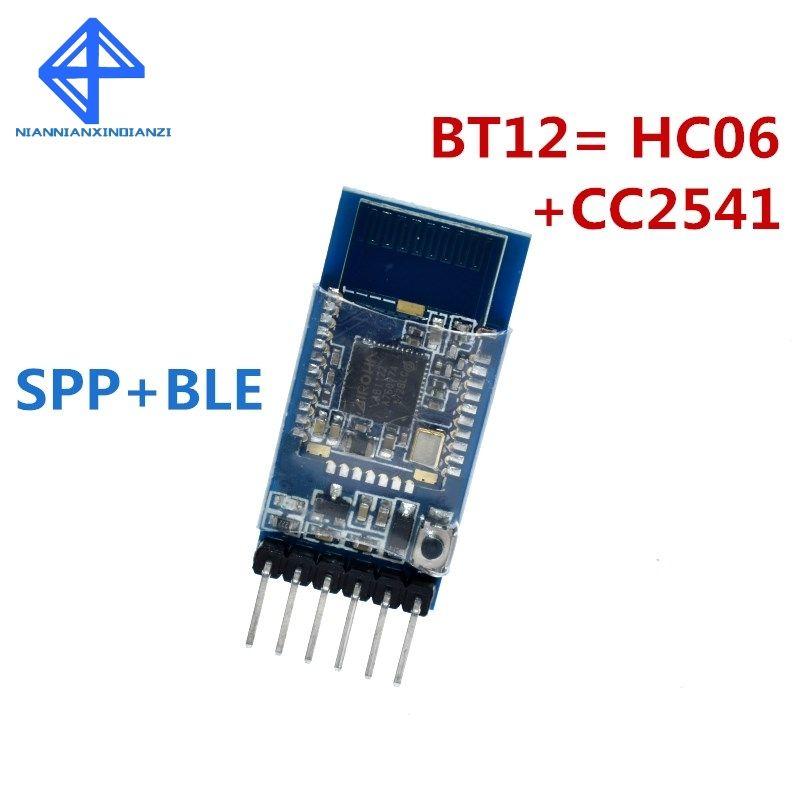 BT12 mit Bluetooth Bluetooth dual-modus serial port BLE4.0 + 2,0 iOS Android drahtlose modul BT12 = HC06 + CC2541