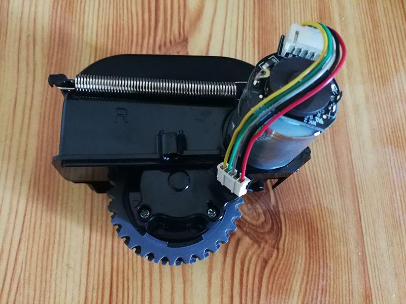 Original roue Droite et moteurs de roue pour robot aspirateur ilife v5 v5s x5 v3 v3s robot Aspirateur ilife Pièces de remplacement