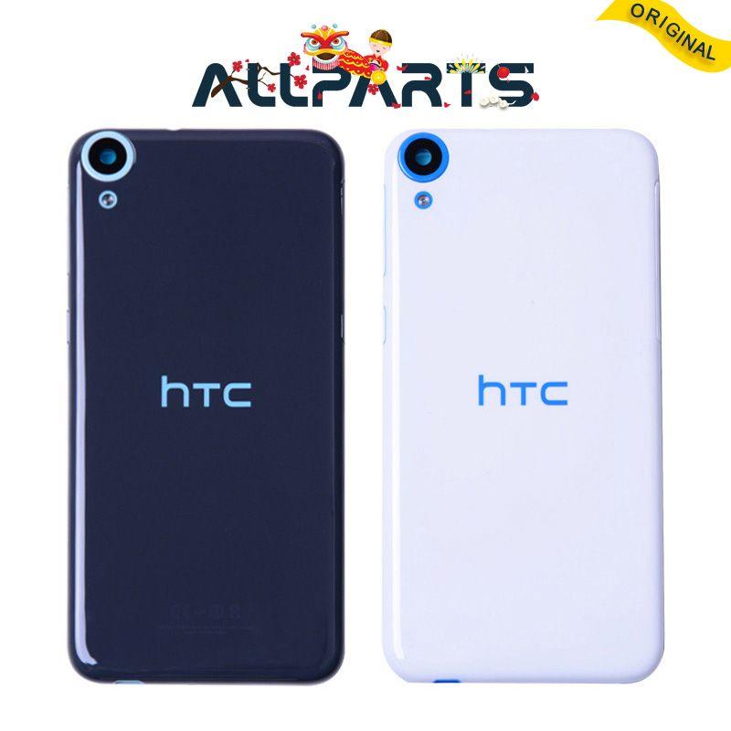 Original Nouveau pour HTC Desire 820 Retour Couverture de Logement de Batterie Porte avec Volume Bouton D'alimentation Caméra Objectif pièces De Rechange