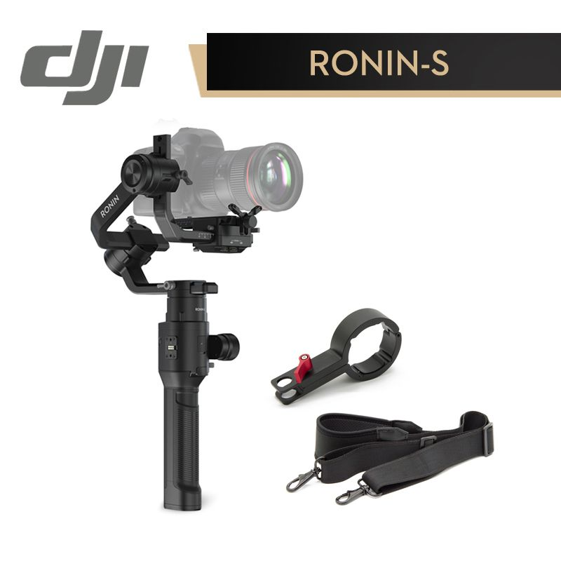 DJI Ronin-S Superior 3-Axis Stabilization Automated SmartShooting Working 12 Hours One Time Fast-moving Shooting Handheld Gimbal