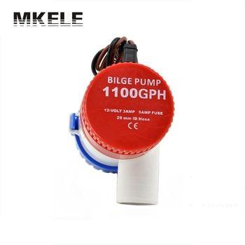Vente chaude MKBP-G1100-12 Règle 1100 Gph 12 V D'eau vide Pompe De Cale Interrupteur Utilisé En Bateau Hydravion Moteur Maisons Péniche Submersible